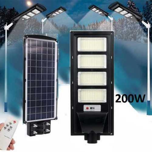 Улична соларна лампа 200W 3