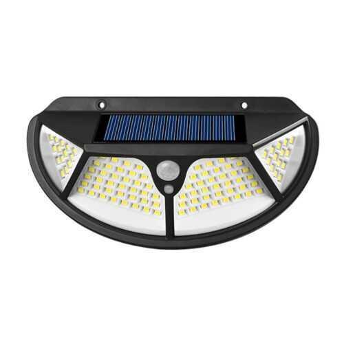 102 LED Соларна лампа 3 странна осветеност 8