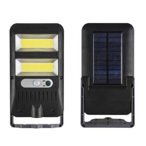 36 COB SMD LED Соларна външна лампа PIR датчик за движение 4