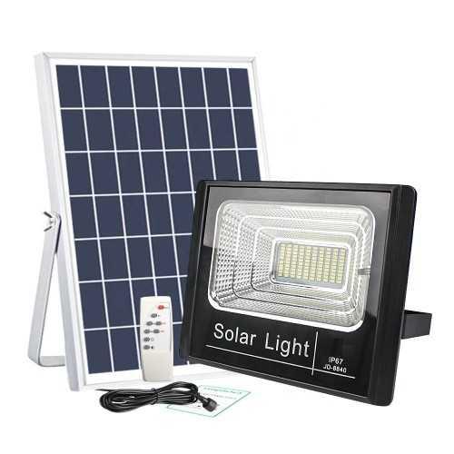50W Соларна LED лампа, мощен лед прожектор, лед осветление 4