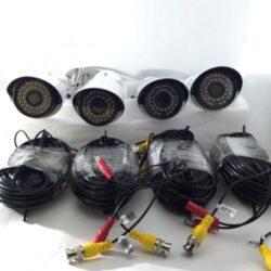 8 AHD камери с DVR пълен комплект за видеонаблюдение 5