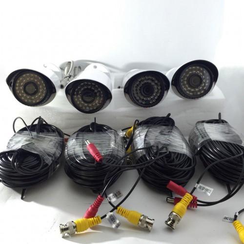 8 AHD камери с DVR пълен комплект за видеонаблюдение 4