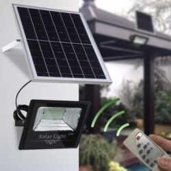 80W Соларна LED лампа, мощен лед прожектор, лед осветление 5