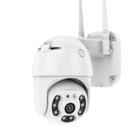Безжична външна въртяща с 2 антени камера + подарък 32gb карта памет 11