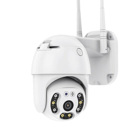 Безжична външна въртяща с 2 антени камера + подарък 32gb карта памет 7