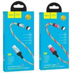 HOCO Магнитен кабел USB за Micro, Type C или Iphone 9