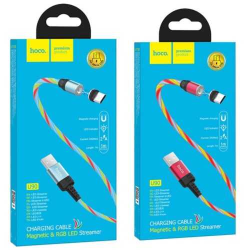 HOCO Магнитен кабел USB за Micro, Type C или Iphone 6