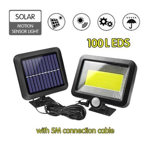 10W Соларен прожектор с отделен панел с 5м кабел !!! 5