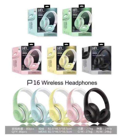 Bluetooth Безжични слушалки P16 5