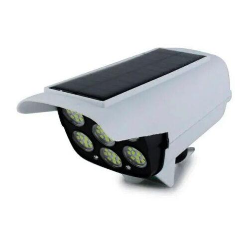 LED Соларна Лампа тип Камера с дистанционно 180W Мощност 77LED 7