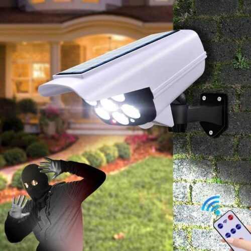 LED Соларна Лампа тип Камера с дистанционно 180W Мощност 77LED 6
