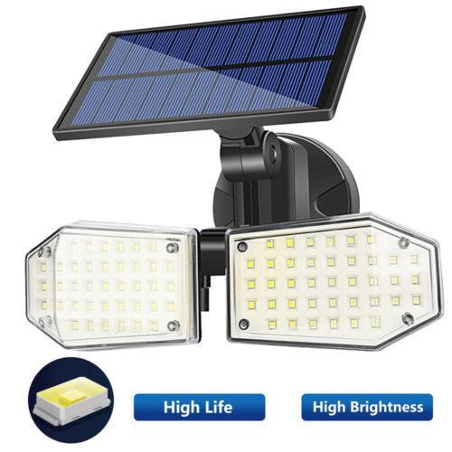 2 броя 78 LED 200W IP65 Устойчива външна сензорна лампа 4