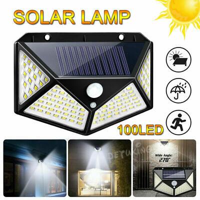 10 броя 100 LED 270 ° Влагоустойчива градинска соларна лампа 4