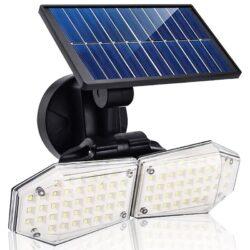 2 броя 78 LED 200W IP65 Устойчива външна сензорна лампа 8