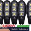 5бр. Соларна LED Лампа Cobra 600W IP65 + стойка за монтаж и дистанционно 1