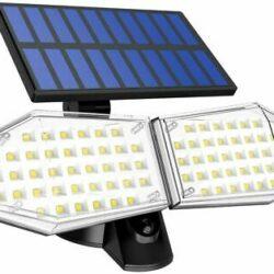 2 броя 78 LED 200W IP65 Устойчива външна сензорна лампа 9