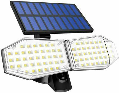 2 броя 78 LED 200W IP65 Устойчива външна сензорна лампа 6