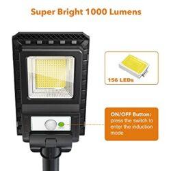 2броя Соларна лампа COBRA 400W със стойка 13