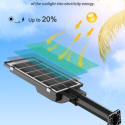 2броя Соларна лампа COBRA 400W със стойка 15