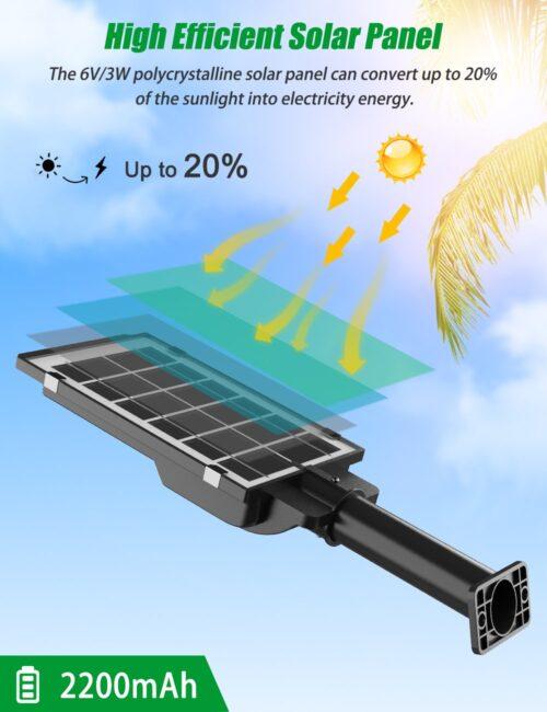 2броя Соларна лампа COBRA 400W със стойка 6