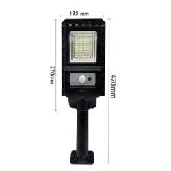 2броя Соларна лампа COBRA 400W със стойка 18