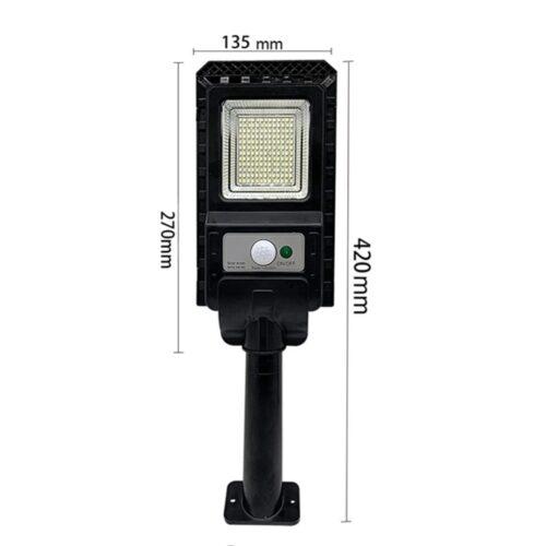 2броя Соларна лампа COBRA 400W със стойка 9