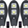 3 броя 300W Соларна лампа тип Cobra + стойка за монтаж + дистанционно 2