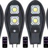 4бр. LED Соларна улична лампа 300W COBRA със сензор 2