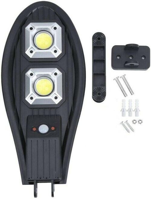 4бр. LED Соларна улична лампа 300W COBRA със сензор 4