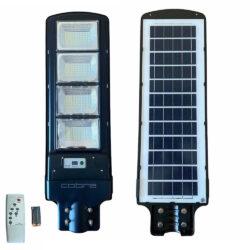 Соларна улична LED лампа COBRA 125/250/375/500W 12