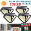 4 броя 102 LED Соларна лампа с 3 режима на осветеност! 1