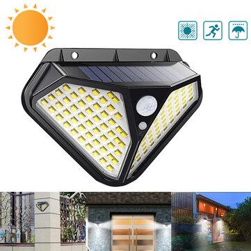 4 броя 102 LED Соларна лампа с 3 режима на осветеност! 8