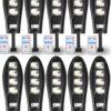 10 Броя LED Соларна улична лампа COBRA, 500W 1