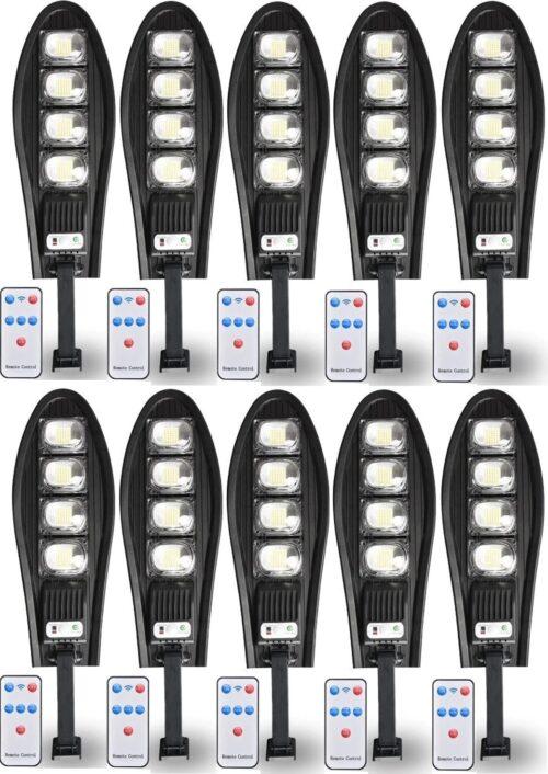 10 Броя LED Соларна улична лампа COBRA, 500W 3