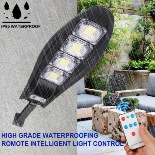 5 Броя LED Соларна улична лампа COBRA, 500W 5