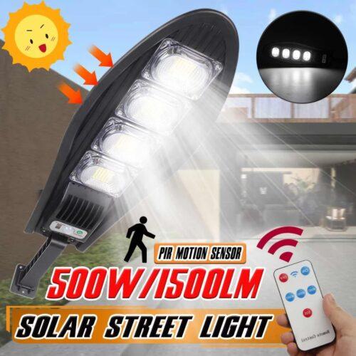 5 Броя LED Соларна улична лампа COBRA, 500W 7