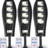 3 Броя LED Соларна улична лампа COBRA, 500W 1
