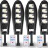 4 Броя LED Соларна улична лампа COBRA, 500W 2