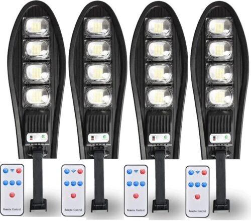 4 Броя LED Соларна улична лампа COBRA, 500W 3