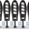 5 Броя LED Соларна улична лампа COBRA, 500W 2