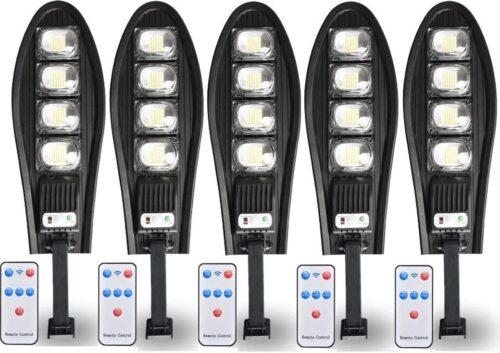 5 Броя LED Соларна улична лампа COBRA, 500W 3